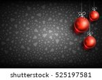 merry christmas and happy new... | Shutterstock .eps vector #525197581