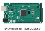 diy electronic mega board with... | Shutterstock .eps vector #525206659