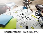 mathematics math algebra... | Shutterstock . vector #525208597