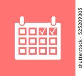 calendar vector icon. | Shutterstock .eps vector #525209305