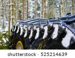 close up view of a wheel... | Shutterstock . vector #525214639