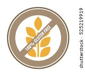 100  gluten free sticker for...