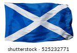 Flag Of Scotland  Isolated On...