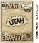 utah   united states of america....   Shutterstock .eps vector #525242869
