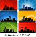 elegant city designs | Shutterstock .eps vector #52526881