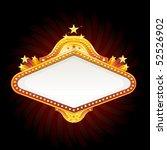 casino sign   Shutterstock .eps vector #52526902