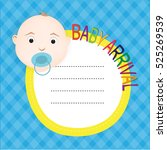 baby arrival | Shutterstock .eps vector #525269539