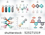 business data visualization.... | Shutterstock .eps vector #525271519