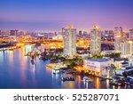the city of chaopraya river... | Shutterstock . vector #525287071
