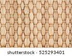 Bamboo Woven Beige Mat Handmad...
