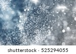 magic blue holiday abstract... | Shutterstock . vector #525294055
