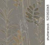 art vintage blurred monochrome... | Shutterstock . vector #525302065