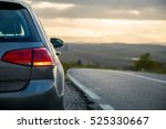 car rental parking on the... | Shutterstock . vector #525330667