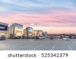 blurred image exterior view of... | Shutterstock . vector #525342379