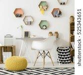 shot of a modern comfortable... | Shutterstock . vector #525343651
