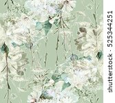 art vintage blurred monochrome... | Shutterstock . vector #525344251