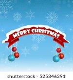 merry christmas. | Shutterstock .eps vector #525346291