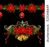 christmas elements for your... | Shutterstock .eps vector #525348649
