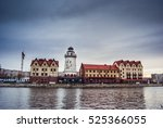 fishing village   ethnographic... | Shutterstock . vector #525366055