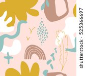 the seamless colorful pattern...   Shutterstock .eps vector #525366697