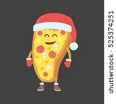 kids restaurant menu cardboard... | Shutterstock .eps vector #525374251