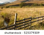View Of A Wooden Fence As Its...