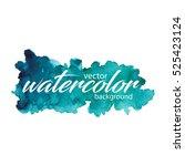 vector watercolor background....   Shutterstock .eps vector #525423124