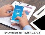 internship concept on screen | Shutterstock . vector #525423715