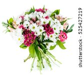 Bouquet Of Chrysanthemums And...