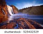 montmorency falls  quebec ... | Shutterstock . vector #525432529