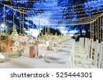 dinner setting | Shutterstock . vector #525444301