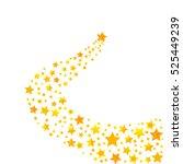 shooting star  star trail ...   Shutterstock .eps vector #525449239