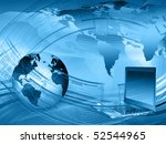 best concept of global business   Shutterstock . vector #52544965