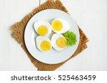 Sliced Boiled Eggs