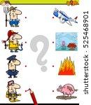 cartoon illustration of... | Shutterstock .eps vector #525468901
