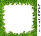 xmas framework  with gradient... | Shutterstock .eps vector #525479605