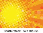 sunny summer tropical abstract... | Shutterstock .eps vector #525485851