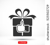 like gift vector icon
