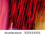 abstract blurred lights motion... | Shutterstock . vector #525519331