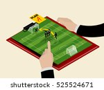 graphic design isometric style... | Shutterstock .eps vector #525524671