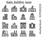 basic building icon | Shutterstock .eps vector #525530224