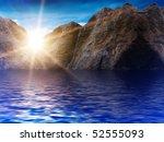sun  sky  clouds   sunrise | Shutterstock . vector #52555093