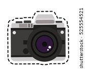 isolated camera device design | Shutterstock .eps vector #525554521