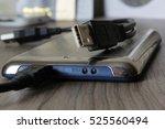 external hard drive. | Shutterstock . vector #525560494
