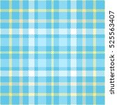 Plaid Check Pattern In Robin...
