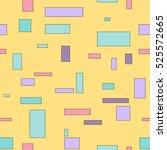 geometric seamless bright... | Shutterstock .eps vector #525572665