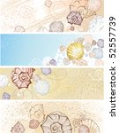 Four Horizontal Banner With...