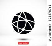 global technology or social... | Shutterstock .eps vector #525578761