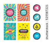 sale website banner templates.... | Shutterstock . vector #525587221