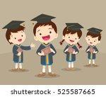 Cute Boys And Girls Graduated...